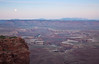 CANYONLANDS AT SUNRISE - don't let the moon fools you