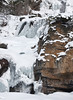 Frozen waterfalls - Tangle Falls