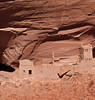 Mummy Cave Ruin - the tower complex was built in the 1280s by people who migrated from Mesa Verde<br /> Canyon De Chelly