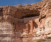 Closer look of the Montezuma Castle