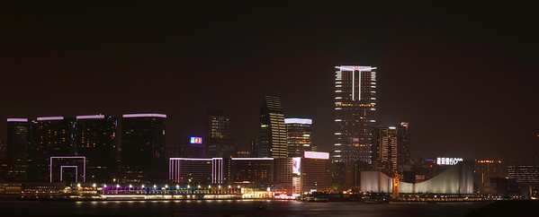 Hong Kong Skyline - Kowloon side