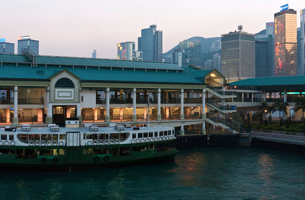 Star Ferry.  The ferries used to be the main form of transportation between Hong Kong Island and Kowloon.  Today, the ferries are mostly for tourists.  Locals prefer the much faster routes such as the tunnels and trains (subway) to cross the Victoria Habour.