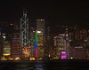 Hong Kong Skyline - the tallest building on the left is the Bank of China Tower.