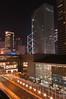 Street view from the IFC (International Finance Center) top balcony