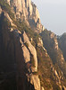 Huangshan does not have trails, but uses stone staircases built into the granite-rocks and this is one of them.  Apparently the  national park has more than 70,000 steps.