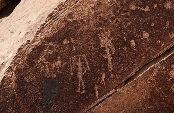 Petroglyphs near Puerco Pubelo