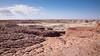 Badlands - blue mesa