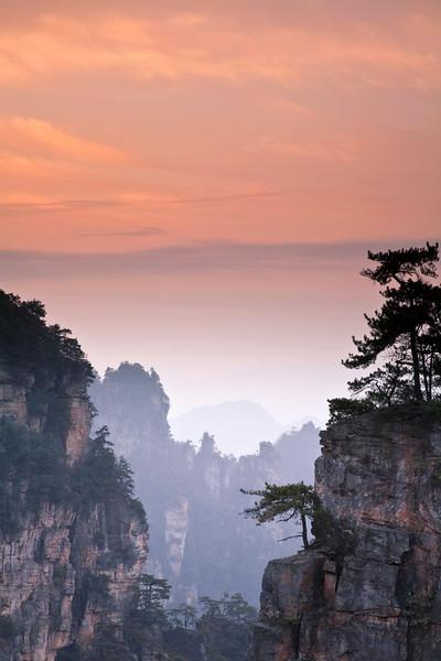 Zhangiajie, Hunan, CHINA (Jan 2010)