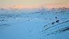 dawn near Jokulsarlon glaciers