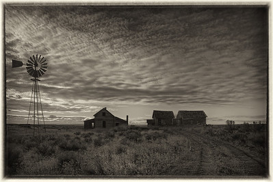 Painted Hills and Oregon Homesteads (Oct, 2012)