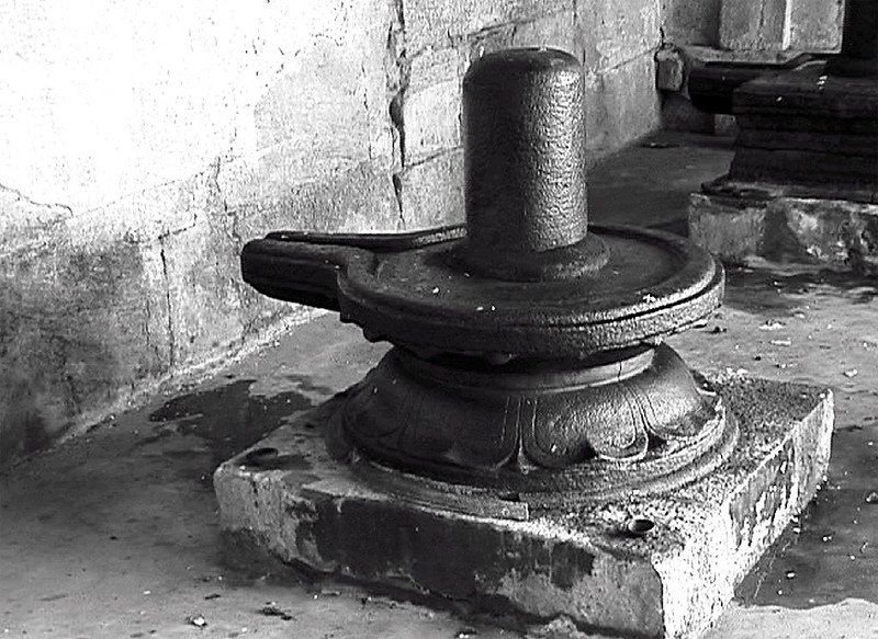 linga and yoni; The stylized symbol of Shiva