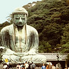 the great bronze Amida Buddha, Kamakura