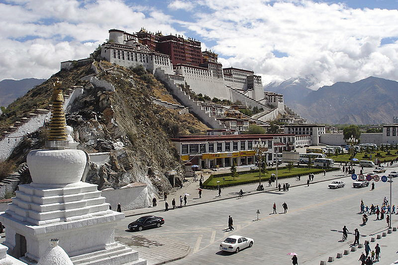 the Potala; Lhasa, Tibet