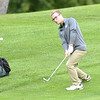 STAN HUDY - SHUDY@DIGITALFIRSTMEDIA.COM<br /> Shenendehowa golfer Luke Potter chips off a slope near the green at the Eidson Club Monday afternoon against Burnt HIlls-Ballston Lake in league play.