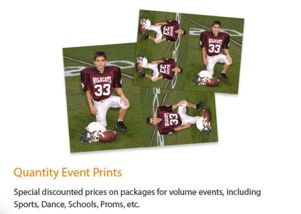 Quantity Event Prints