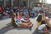 Friday evening, August 1, 2009.  This audience has gathered to see the Robinn Lange hypnosis show.
