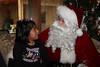 Week ending December 25, 2009.  Sara and Santa have a heart-to-heart talk.