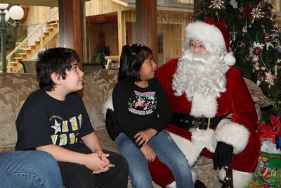 Santa Claus at the Voelkels
