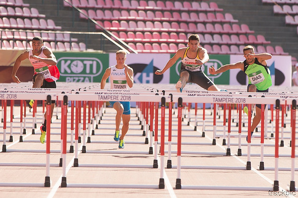 IAAF World U20 Championships Tampere Day 2