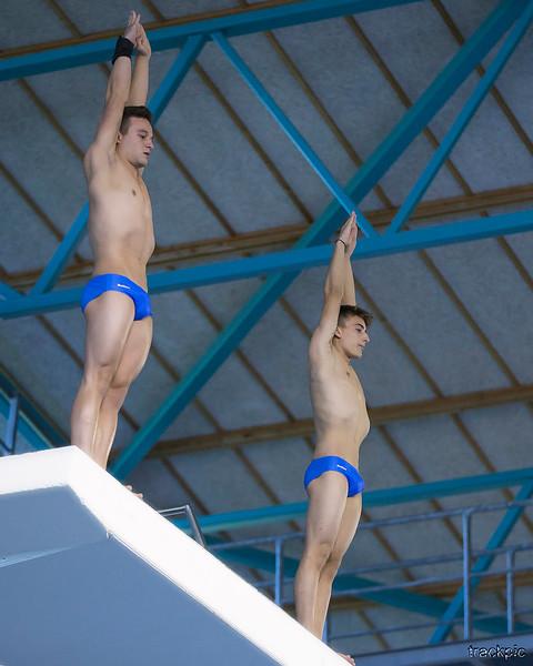 LEN European Junior Champs Diving - Thursday