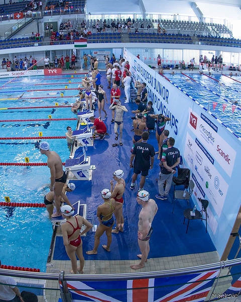 LEN European Junior Champs Swimming 6