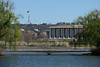 15/09/07 - The New Parliament House and the national Library from across Lake Burley Griffin.