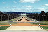1989 Sep - Looking towards Parliament House from National War Museum