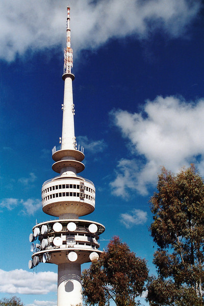 1989 Sep - Telstra Tower Up on top of Black Mountain