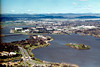 1989 Sep - Lake Burley Griffin From Telstra Tower, Black Mountain