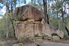 26/08/2016 - Rock, sediment, rock at Tidbinbilla Nature Reserve, ACT.