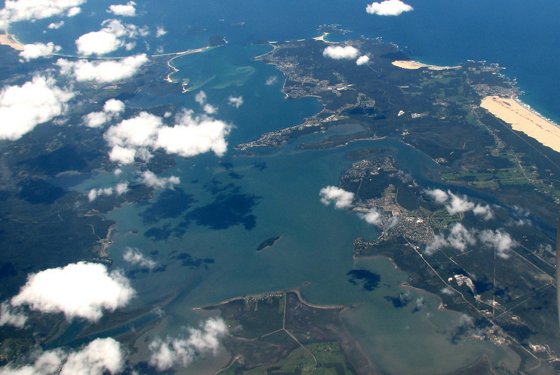21/11/08 - Port Stephens from the air.