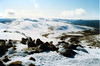 1986 Jun - Mt Townsend From Mt Kosciusko