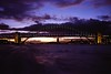 1997 Jul - Sydney Harbour Bridge at Sunset From a Manly Ferry