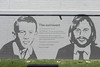 30/08/2016 - Maurice Gibb mural, Bee Gees Walk, Redcliffe, QLD.