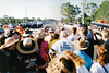 1995 Apr 18 - Crowd Waiting for the Opening of Tallon Bridge, Bundaberg