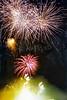 1995 Apr 18 - Fireworks at Opening of Tallon Bridge, Bundaberg