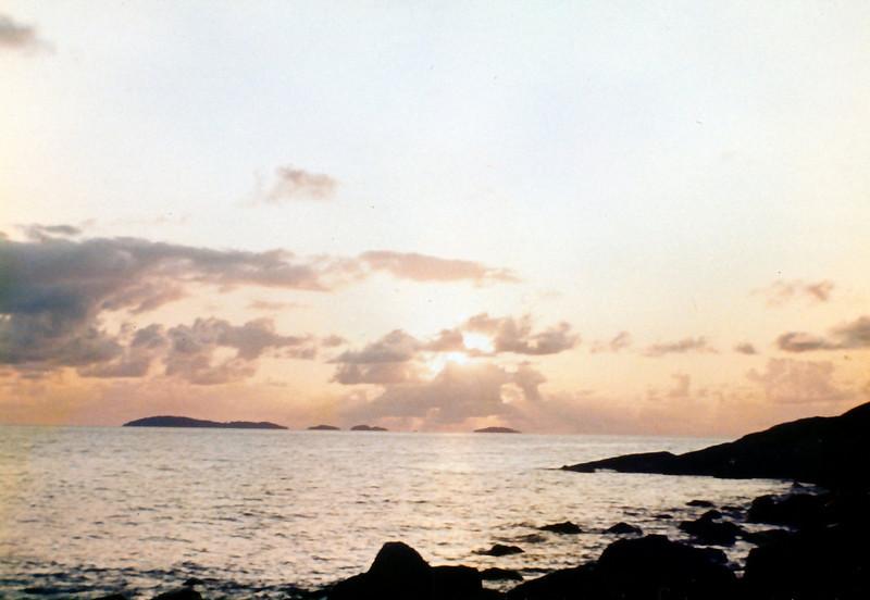 1984 Sep - Coral Sea Sunrise.