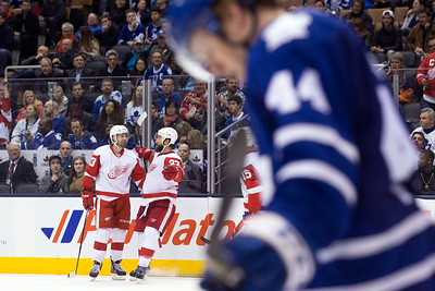 Red Wings Maple Leafs Hockey