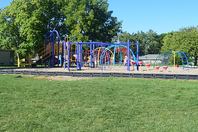 Robert Englund, director of facilities for the School District of the City of Pontiac, says the district has spent approximately $700,000 on new playground equipment since the sinking fund was passed in March of 2016. Photo: Anthony Spak/For The Oakland Press.