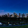 Houston Skyline at dawn.