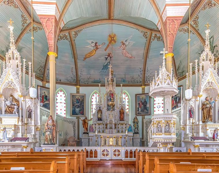St. Mary's Catholic Church in Praha, Texas