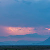 Thunderstorms at sundown!