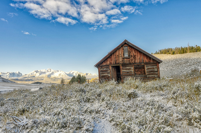 The Old Cabin - Stanley, Idaho