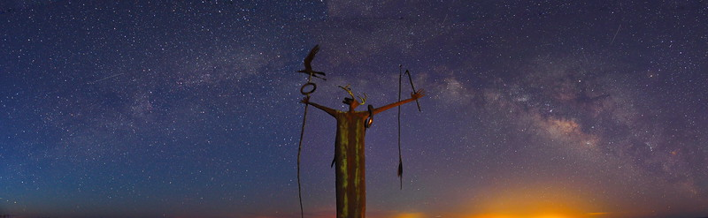 Maker of Peace - Seminole Canyon State Park, Comstock, Texas