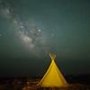Milky Way over the Teepee - Terlingua, Texas