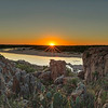 Sunset over the Llano River