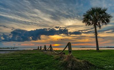 MIramar Beach Sunrise - La Porte, Texas