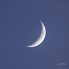 Waxing Crescent Moon 18%
