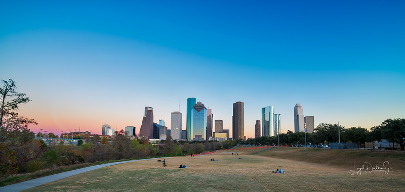 Houston Skyline at Twilight