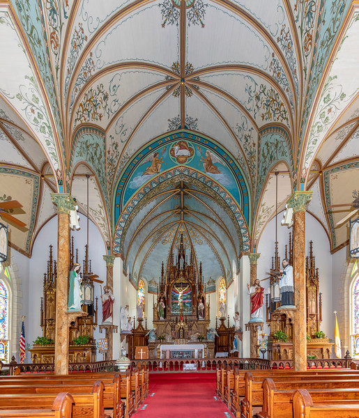 St Mary's Catholic Church, High Hill, Texas